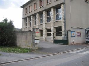 Entrée école de Bossay