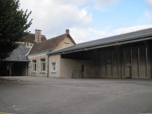 Cour école de Bossay