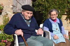 Henri Thiennet et sa femme Marie Thérèse, un soutien sans faille